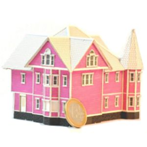 Victorian house model from Coraline