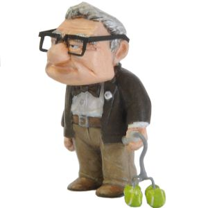 Carl Fredricksen figurine