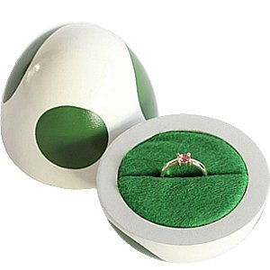 Yoshi Egg Engagement Ring Box