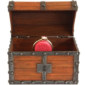 Zelda Treasure Chest Engagement Ring Box