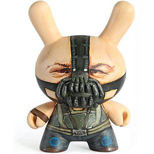 Bane from Batman the Dark Knight custom dunny vinyl toy