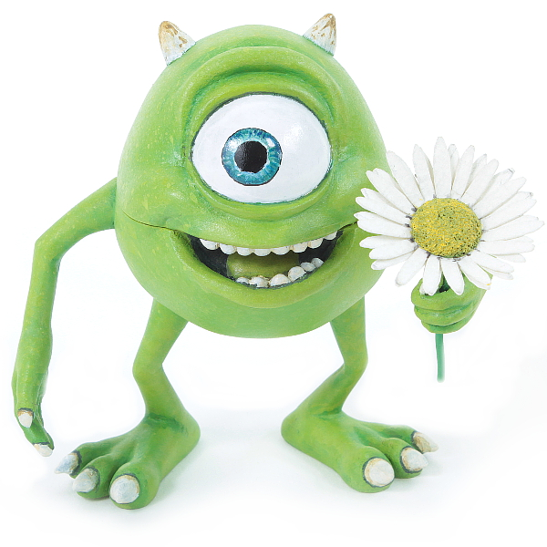 Mike Wazowski engagement ring box
